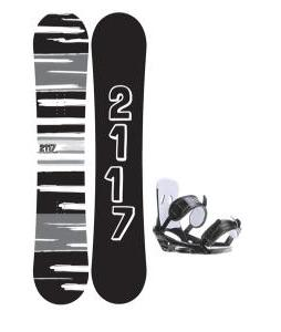 2117 Of Sweden Fader Snowboard 157 2014 w/ 2118 Of Sweden Storm Snowboard Bindings 2014