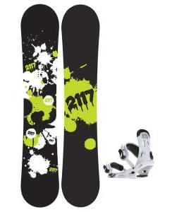2117 Of Sweden Identity Wide Snowboard 155 2014 w/ 2117 Of Sweden Storm Snowboard Bindings 2014