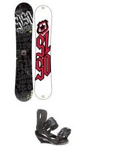 5150 Vice Snowboard 151 w/ Sapient Wisdom Snowboard Bindings