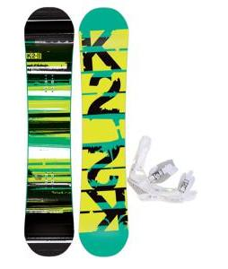 K2 Playback Wide Snowboard w/ Burton Triad Snowboard Bindings