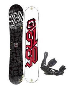 5150 Vice Snowboard 159 w/ Burton P1.1 Snowboard Bindings