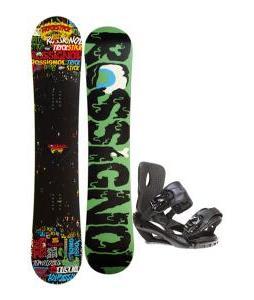 Rossignol Trickstick Amptek Snowboard 151 w/ Sapient Fusion Snowboard Bindings