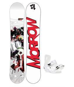 Morrow Radium Snowboard 159 w/ Sapient Zeus Snowboard Bindings