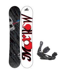 Morrow Fury Snowboard 163 w/ Burton P1.1 Snowboard Bindings