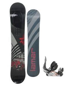Lamar Mission Snowboard 157 w/ Ride LX Snowboard Bindings