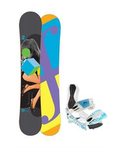 Forum Youngblood Doubledog Snowboard 156 w/ Lamar Wrap Snowboard Bindings
