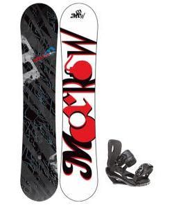 Morrow Fury Snowboard 155 w/ Sapient Wisdom Snowboard Bindings