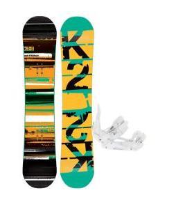 K2 Playback Wide Snowboard w/ Ride EX Snowboard Bindings