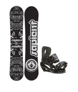 Sapient Outlaw Wide Snowboard 157 2014 w/ Sapient Stash Snowboard Bindings