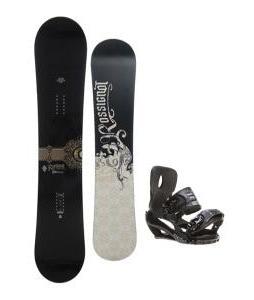 Rossignol Sultan Snowboard 150cm w/ Sapient Stash Snowboard Bindings
