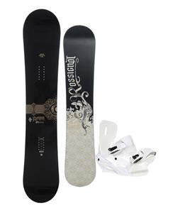 Rossignol Sultan Snowboard 150cm w/ Sapient Zeus Snowboard Bindings