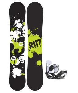 2117 Of Sweden Identity Wide Snowboard 155 2014 w/ 2118 Of Sweden Storm Snowboard Bindings 2014
