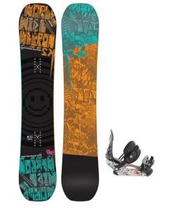 K2 WWW Rocker Wide Snowboard w/ Ride LX Snowboard Bindings