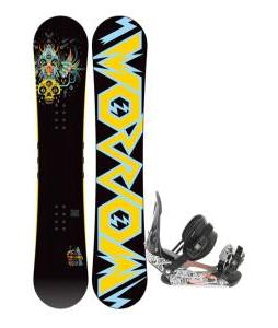 Morrow Truth Snowboard 158 w/ Ride LX Snowboard Bindings