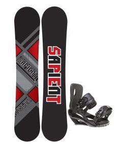 Sapient Future Snowboard 156 2014 w/ Sapient Wisdom Snowboard Bindings
