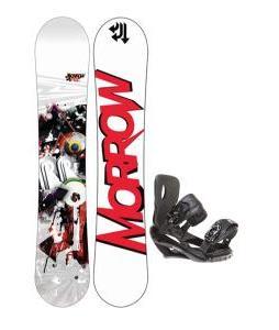 Morrow Radium Snowboard 155 w/ Sapient Wisdom Snowboard Bindings