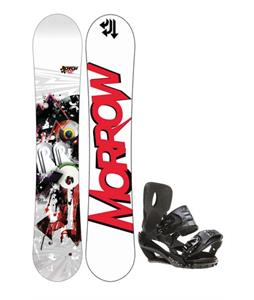 Morrow Radium Wide Snowboard 159 w/ Sapient Stash Snowboard Bindings
