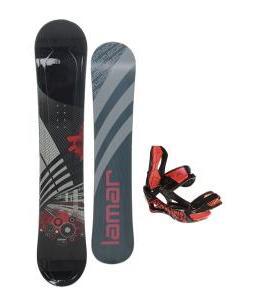 Lamar Mission Snowboard 157 w/ Lamar Wrap Snowboard Bindings