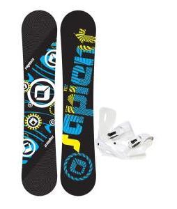 Sapient Cog Snowboard 161 2014 w/ Sapient Zeus Snowboard Bindings