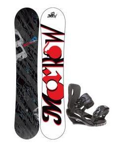 Morrow Fury Snowboard 151 w/ Sapient Wisdom Snowboard Bindings