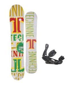 Technine MVP Series Snowboard 153 Rasta w/ Burton P1.1 Snowboard Bindings