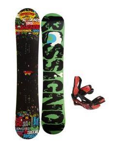 Rossignol Trickstick Amptek Snowboard 151 w/ Lamar Wrap Snowboard Bindings