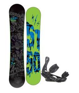 5150 Movement Snowboard 155 w/ Burton P1.1 Snowboard Bindings