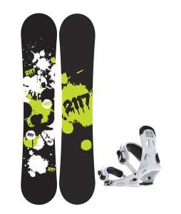 2117 Of Sweden Identity Wide Snowboard 159 2014 w/ 2117 Of Sweden Storm Snowboard Bindings 2014
