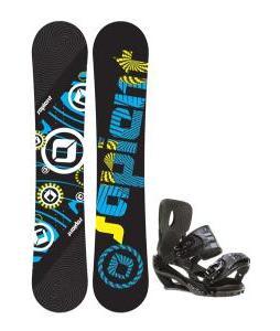 Sapient Cog Snowboard 153 2014 w/ Sapient Stash Snowboard Bindings