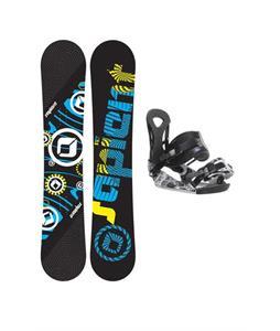 Sapient Cog Snowboard 148 2014 w/ Ride LX Snowboard Bindings