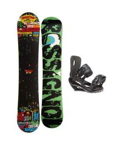 Rossignol Trickstick Amptek Snowboard 151 w/ Sapient Wisdom Snowboard Bindings