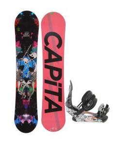 Capita Mindblower LTD Snowboard 153 w/ Ride LX Snowboard Bindings