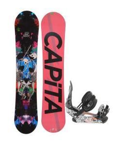 Capita Mindblower LTD Snowboard 153 w/ Ride LX Snowboard Bindings