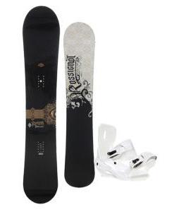 Rossignol Sultan Midwide Snowboard 155cm w/ Sapient Zeus Snowboard Bindings