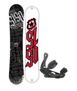 5150 Vice Wide Snowboard 163 w/ Burton P1.1 Snowboard Bindings