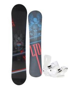 LTD Quest Snowboard 154 w/ Sapient Zeus Snowboard Bindings