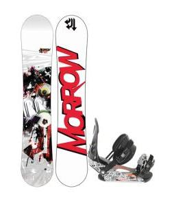 Morrow Radium Snowboard 159 w/ Ride LX Snowboard Bindings