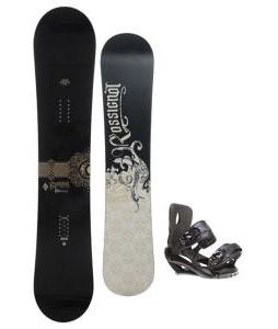 Rossignol Sultan Snowboard 150cm w/ Sapient Fusion Snowboard Bindings