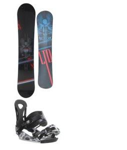 Forum Manual Snowboard 147 w/ Burton P1.1 Snowboard Bindings