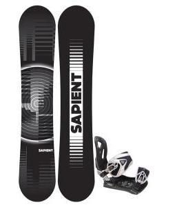 Sapient Sector Snowboard 148 2014 w/ LTD LT35 Snowboard Bindings