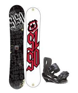 5150 Vice Snowboard 159 w/ Sapient Fusion Snowboard Bindings