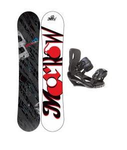 Morrow Fury Snowboard 159 w/ Sapient Wisdom Snowboard Bindings