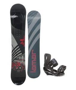 Lamar Mission Snowboard 157 w/ Sapient Wisdom Snowboard Bindings