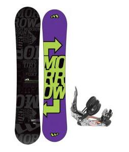 Morrow Fury Snowboard 151 w/ Ride LX Snowboard Bindings
