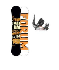 Forum Manual Snowboard 159 w/ Ride LX Snowboard Bindings