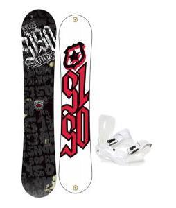 5150 Vice Wide Snowboard 159 w/ Sapient Zeus Snowboard Bindings