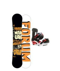 Forum Manual Snowboard 159 w/ Forum Faction Snowboard Bindings
