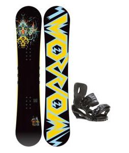 Morrow Truth Snowboard 158 w/ Sapient Stash Snowboard Bindings