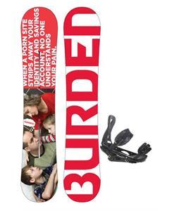 Burton Burden Snowboard w/ Burton P1.1 Snowboard Bindings