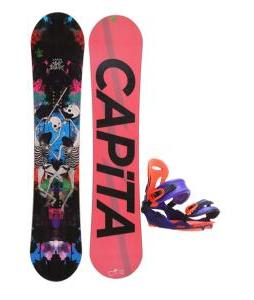 Capita Mindblower LTD Snowboard 153 w/ Union Force SL Snowboard Bindings